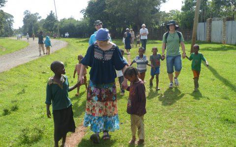 Reger Austausch auf der Afrikareise