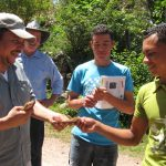 Solarlampen für Radioschulen in Tegucigalpa, Honduras